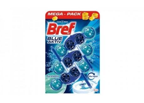 BREF odorizant WC bile 3x50g Aktiv Eucalipt
